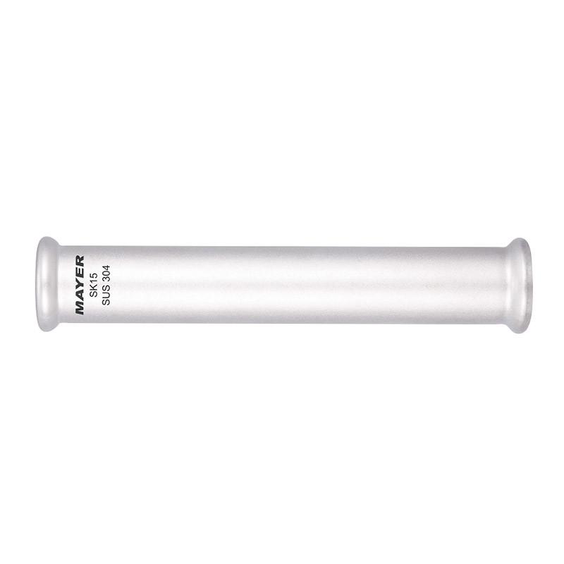 Stainless Steel Press Fitting Slip Coupling M / V Profile 304/316L