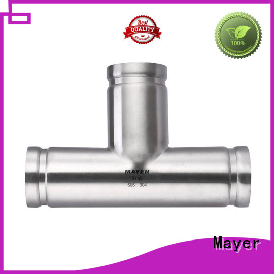 Mayer stainless grooved pipe fittings manufacturers water pipeline