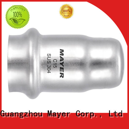 Mayer cap stainless steel cap supply gas pipeline