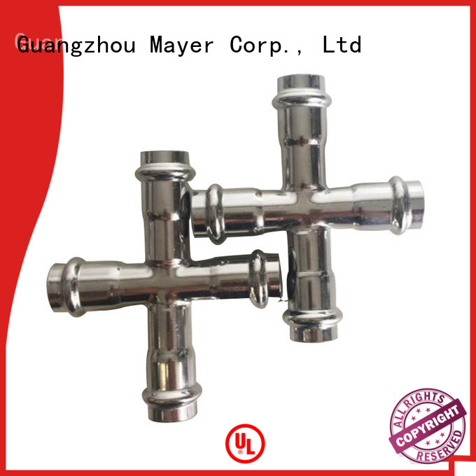 Mayer High-quality cross tee pipe fitting for sale gas supply