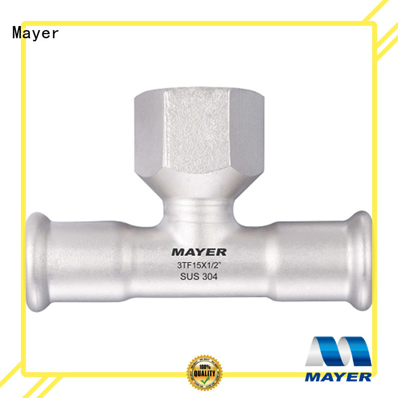 Mayer High-quality branch tee company gas supply