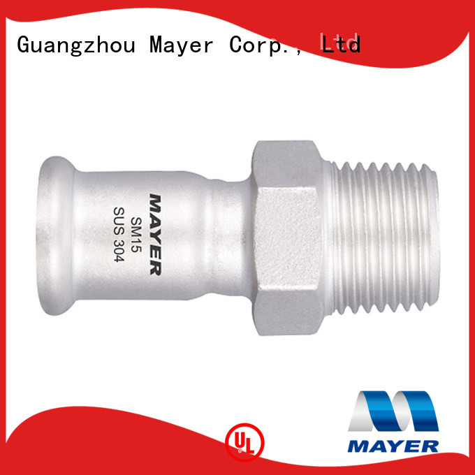 Mayer multi press coupling for business HAVC