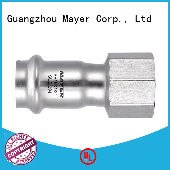High-quality press coupling piping suppliers food industry
