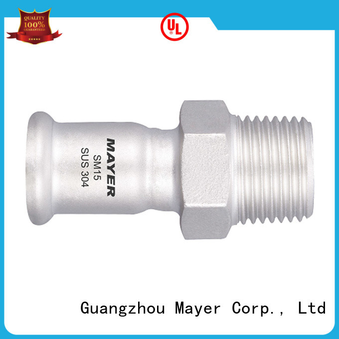 Mayer Best press coupling factory gas supply