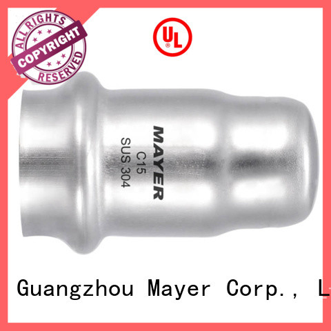 Mayer fitting stainless pipe cap for sale water pipeline