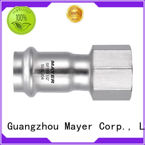 Mayer adapter stainless steel coupling manufacturers HAVC