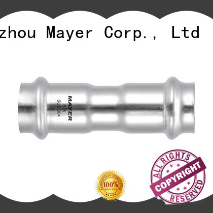 Mayer Latest stainless steel pipe coupling for business food industry