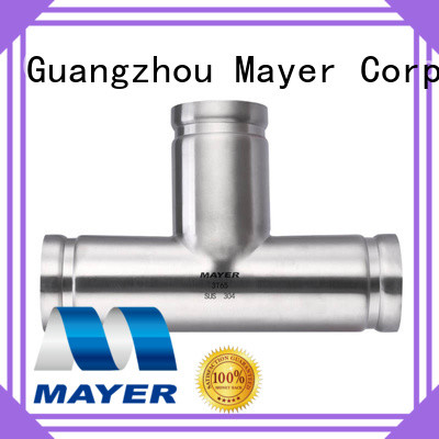 Mayer stainless grooved fitting factory water pipeline