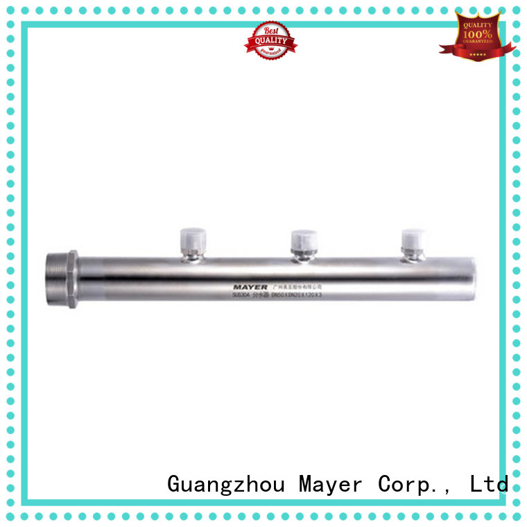 Custom press coupling branches company food industry