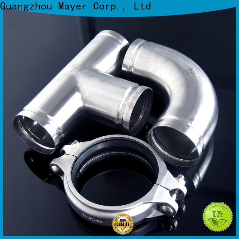 Mayer Wholesale stainless steel grooved pipe fittings manufacturers gas pipeline