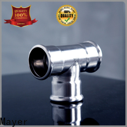 Mayer female branch tee factory gas supply