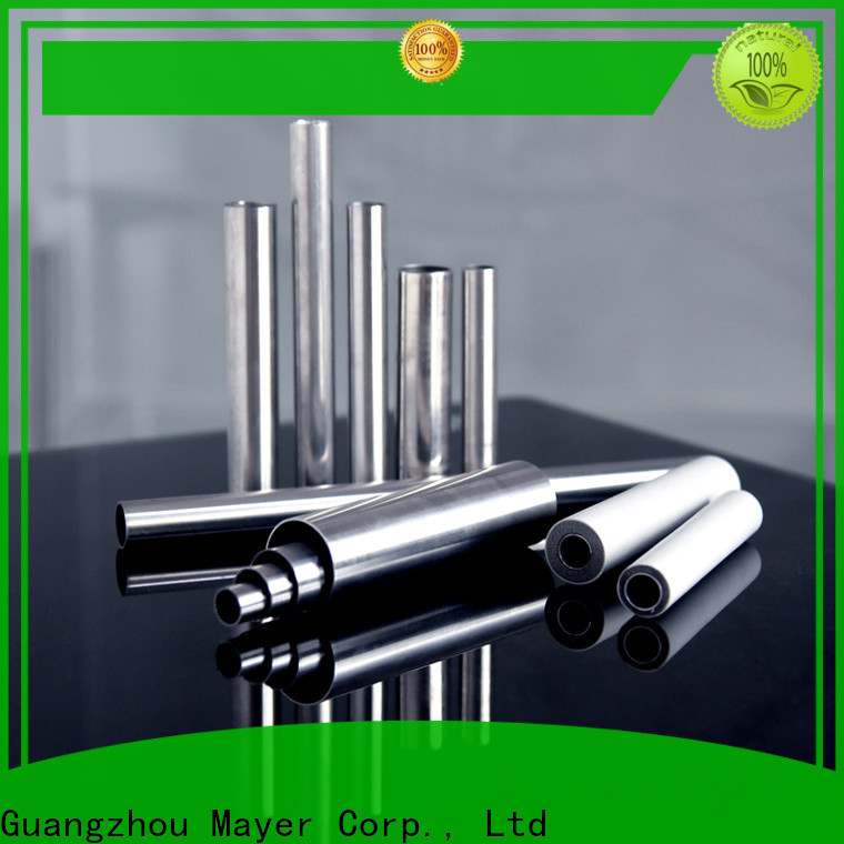 Mayer Custom 316 stainless steel tubing supply industrial oil pipe system