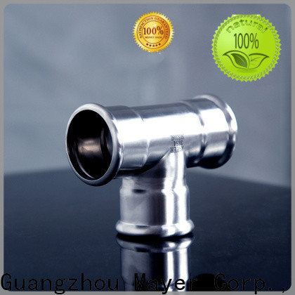 Mayer Latest tee stainless steel factory water supply