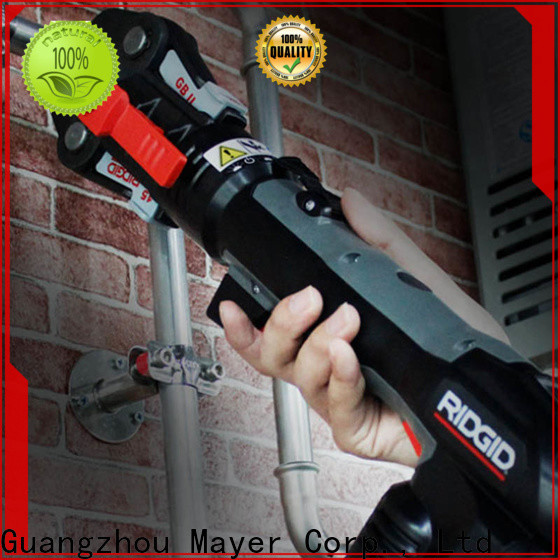 Mayer ridgid pipe press fitting tool for business water pipeline