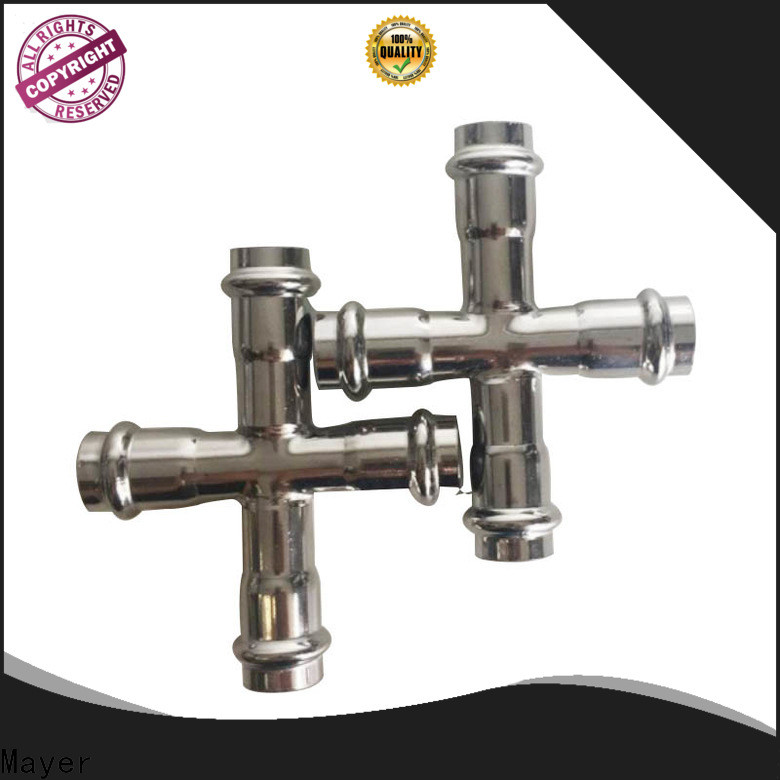 Custom cross tee pipe fitting cross suppliers HAVC