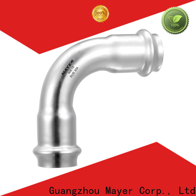Mayer Custom elbow pipe fitting manufacturers steam system