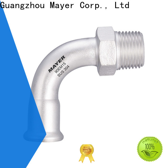 High-quality elbow pipe fitting female company heating system