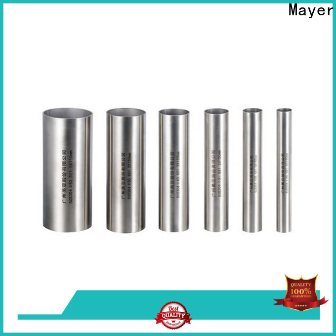 Mayer pipe stainless steel pipe 304 factory industrial oil pipe system