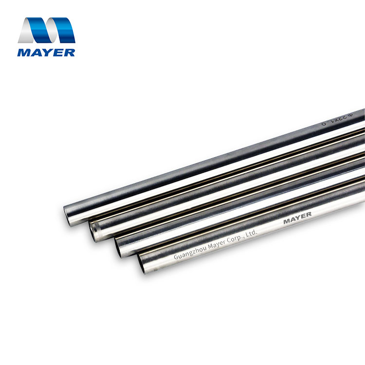stainless steel seamless pipes material steel 316L tube for detachable house