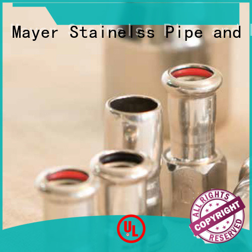 Mayer gas Press fittings for gas pipeline company water pipeline
