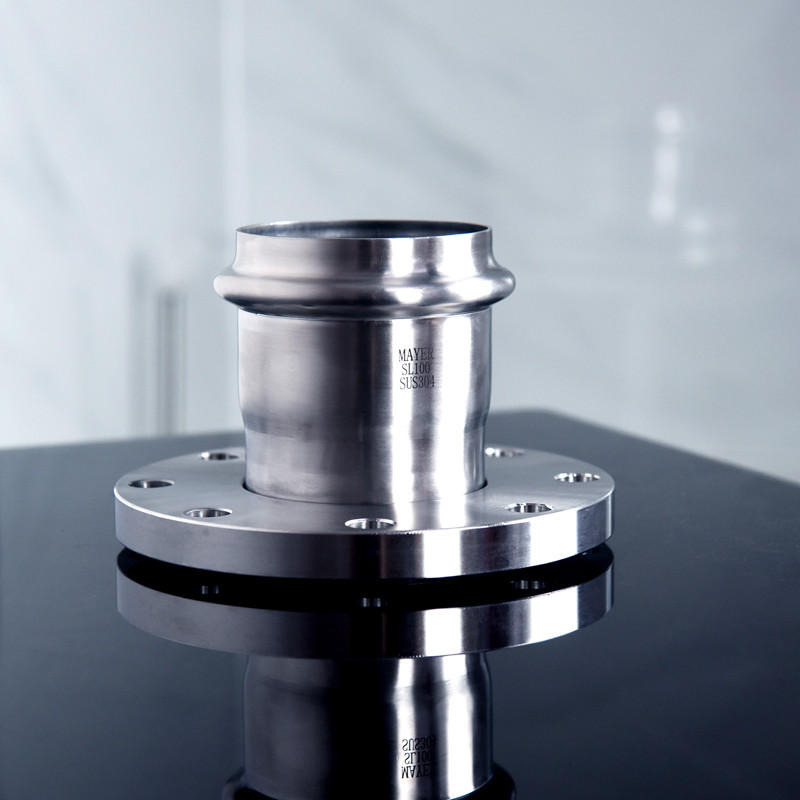 Stainless steel flange connector